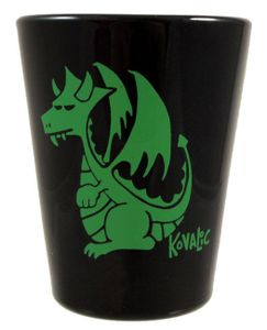 Munchkin Plutonium Dragon Shot Glass