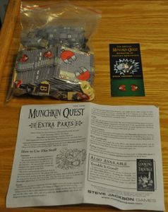 Munchkin Quest: Extra Parts