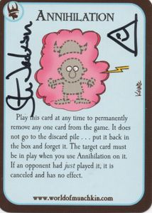 Munchkin Quest: Promo Cards