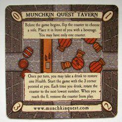 Munchkin Quest: Promo Coaster 1