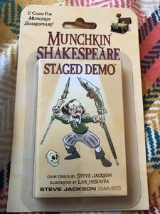 Munchkin Shakespeare: Staged Demo