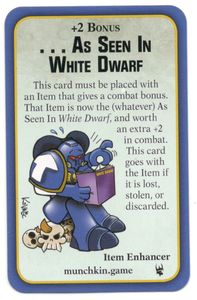 Munchkin Warhammer 40,000: As Seen in White Dwarf Promo Card