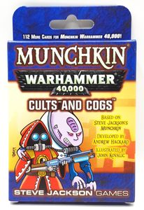 Munchkin Warhammer 40,000: Cults and Cogs