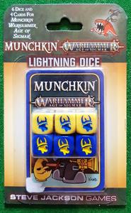 Munchkin Warhammer Age of Sigmar: Lightning Dice