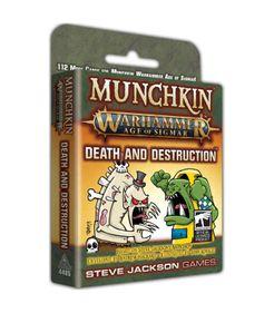 Munchkin Warhammer: Age of Sigmar – Death and Destruction