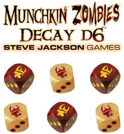 Munchkin Zombies: Decay d6