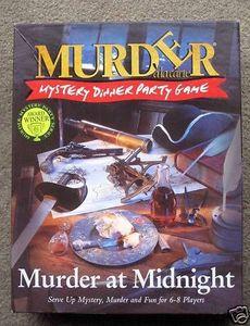 Murder à la carte: Murder at Midnight