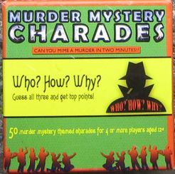Murder Mystery Charades