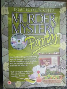 Murder Mystery Party: Death of a Chef