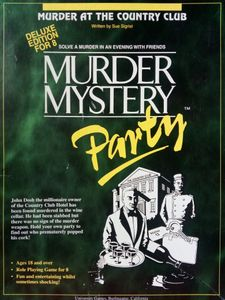 Murder Mystery Party: Murder at the Country Club