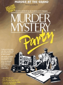 Murder Mystery Party: Murder at the Grand