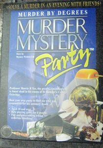 Murder Mystery Party: Murder by Degrees