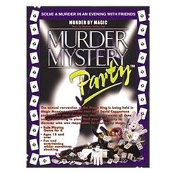 Murder Mystery Party:  Murder by Magic