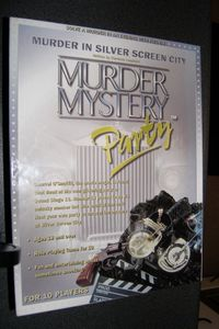 Murder Mystery Party: Murder in Silver Screen City