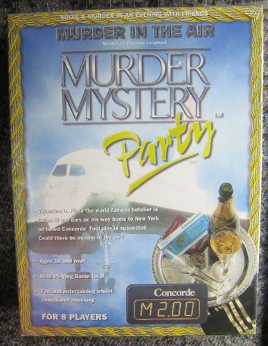 Murder Mystery Party: Murder in the Air