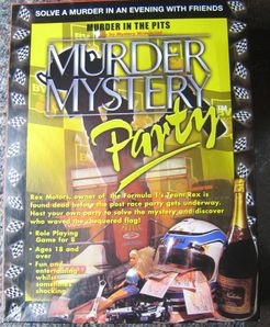 Murder Mystery Party: Murder in the Pits