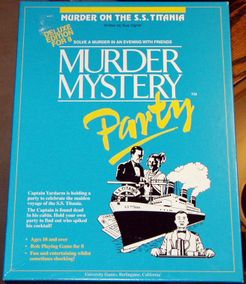 Murder Mystery Party: Murder on the S. S. Titania