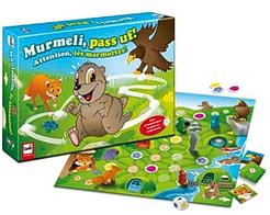 Murmeli, pass uf!