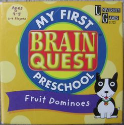 My First Brain Quest Fruit Dominoes