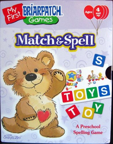 My First Games: Match & Spell