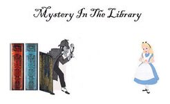 Mystery In The Library: A Mystery Party Card Game