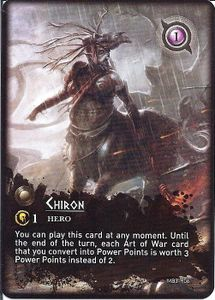 Mythic Battles: Chiron Promo card