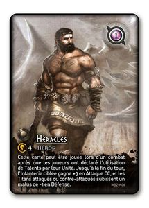 Mythic Battles: Heracles Promo card