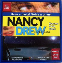 Nancy Drew Mystery Party Game: One Step Ahead