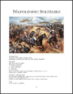 Napoleonic Solitaire