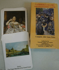 National Gallery Artist's Card Game