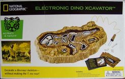 National Geographic Electronic Dino Xcavator