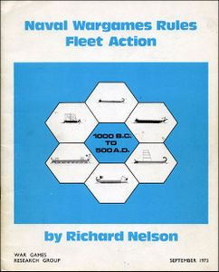 Naval Wargames Rules Fleet Action 1000 B.C. to 500 A.D.