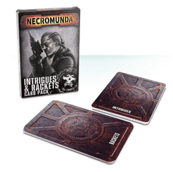 Necromunda Underhive: Intrigues and Rackets Card Pack