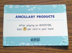 Nefarious: Ancillary Products