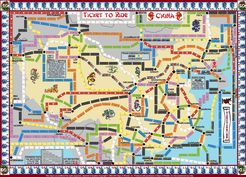 New China (fan expansion to Ticket to Ride)