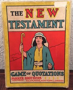 New Testament The Game of Quotations