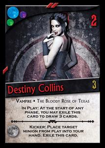 Nightfall: Destiny Collins Promo