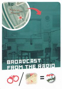 Nights of Fire: Battle for Budapest – Broadcast from the Radio Promo Card