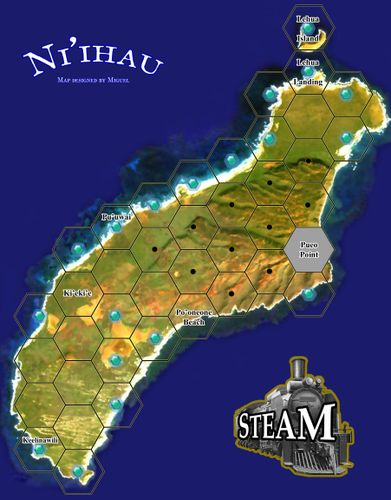 Ni'ihau: A Solitaire map for Steam (fan expansion for Steam)