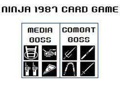 Ninja 1987 Card Game