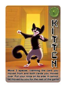 Ninja Camp: Kitten