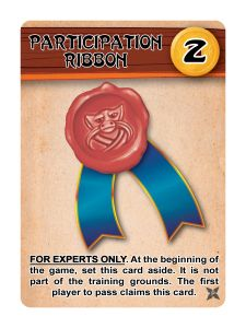 Ninja Camp: Participation Ribbon