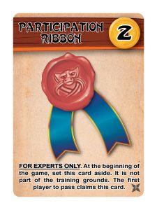 Ninja Camp: Participation Ribbon