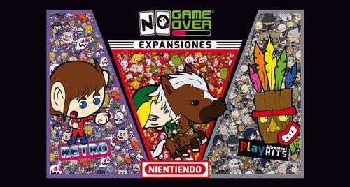No Game Over: Expansiones – Nientiendo, Play & Greatest Hits y Retro