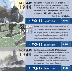 Norway, 1940: A PQ-17 Expansion