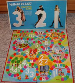 Numberland Counting Game