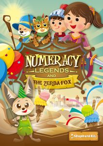 Numeracy Legends and The Zerda Fox
