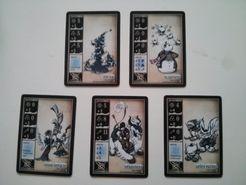 Oddball Aeronauts: Snowtide Mercenary Cards
