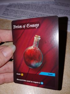 Of Dreams and Shadows: Potion of Courage Promo Card