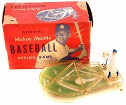 Official Mickey Mantle Baseball Action Game